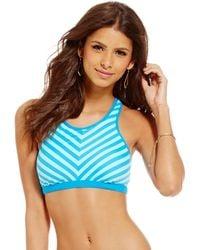 Next By Athena - Barre To Beach High-neck Swim Top - Lyst