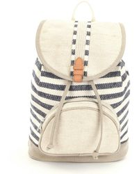 TOMS - Departure Riviera Striped Mix Backpack - Lyst
