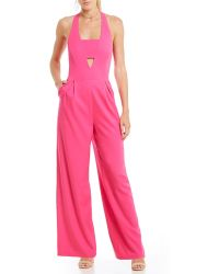 Skies Are Blue - Cut-out Jumpsuit - Lyst
