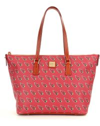 Dooney & Bourke Nfl Collection Arizona Cardinals Shopper Tote - Red