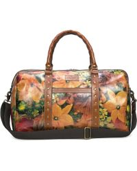 Patricia Nash - Heritage Print Collection Milano Floral Weekender - Lyst