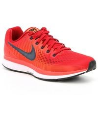 Men ?s Air Zoom Pegasus 34 Running Shoes Red