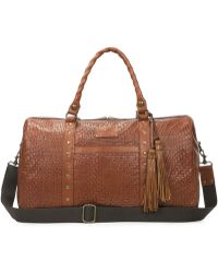 Patricia Nash - Woven Collection Milano Tasseled Weekender - Lyst