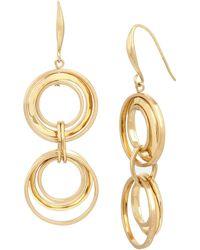 Robert Lee Morris   Double-drop Earrings   Lyst