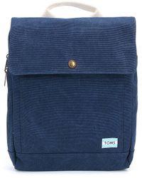 TOMS - Trekker Canvas Backpack - Lyst