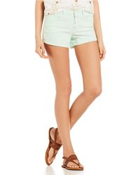 Celebrity Pink - Exposed Button Shorts - Lyst