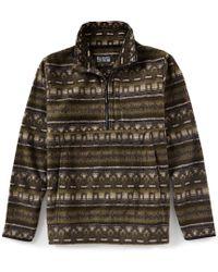 Billabong - Boundary Mock Half Zip Fleece Pullover - Lyst