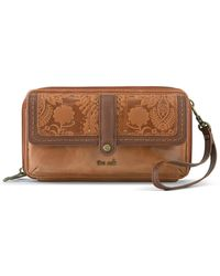The Sak Collective Sequoia Extra Large Floral Embossed Smartphone Crossbody Bag - Multicolour