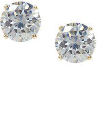 Jessica Simpson - Crystal Stud Earrings - Lyst