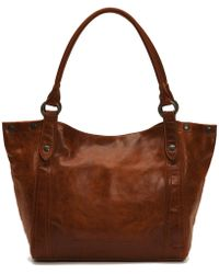 Frye - Melissa Washed Leather Shoulder Bag - Lyst