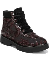 Naturalizer - Lucy Embroidered Ankle Boots - Lyst