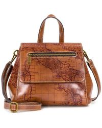 Patricia Nash - Signature Map Collection Molina Convertible Backpack - Lyst