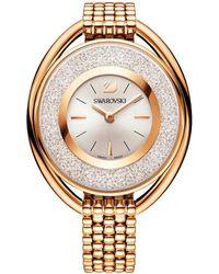 Swarovski - Crystalline Oval Bracelet Watch - Lyst