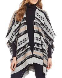 Fraas - Multi-texture Knit Wrap - Lyst