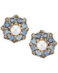 Marchesa - Cluster Stud Earrings - Lyst
