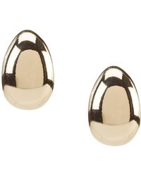 Anne Klein - Clip-on Hoop Earrings - Lyst