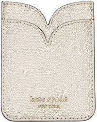 Kate Spade - Sylvia Double Sticker Pocket - Lyst