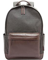 Fossil - Buckner Fabric Laptop Backpack - Lyst