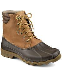 Sperry Top-Sider - Men's Avenue Waterproof Winter Duck Boots - Lyst