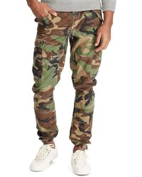 Polo Ralph Lauren - Slim-fit Camo Cargo Pants - Lyst