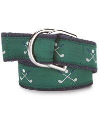 Brooks Brothers - Golf-embroidered Belt - Lyst