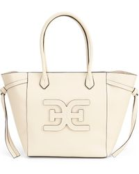 66a842c7c722 Michael Kors 'large Eleanor - North South' Calfskin Leather Tote in ...