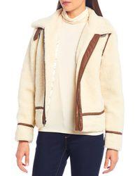 Cremieux Ralph Wubby Faux Shearling Jacket - Multicolor