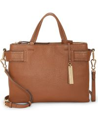 Vince Camuto Davy Satchel - Brown