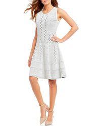 Antonio Melani - Tata A-line Knit Dress - Lyst