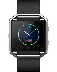 Fitbit Blaze Luxe Leather Band - Gray