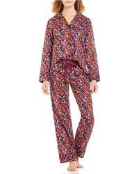 Antonio Melani - Made With Liberty Fabrics Camo Flowers Lawn Pajamas - Lyst