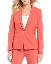 Antonio Melani - Tabitha Single Button Front Jacket - Lyst