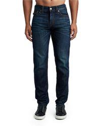 True Religion - Mirage Geno Slim Straight Jeans - Lyst