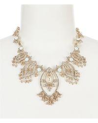 Marchesa Collar Necklace - Metallic