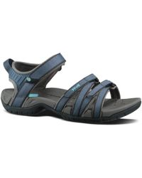 d8f7a1e4ff09 Lyst - Teva Tirra Slide Sandal in Blue