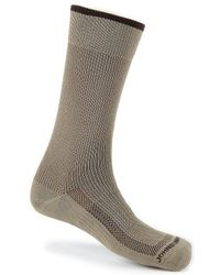 Johnston & Murphy - Pindotted First In Comfort Dress Socks - Lyst