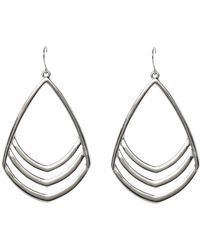Vince Camuto - Frontal Drop Earrings - Lyst