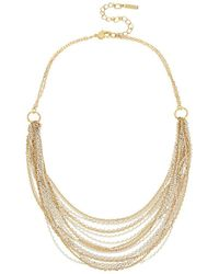 Kenneth Cole - Multi-row Frontal Necklace - Lyst