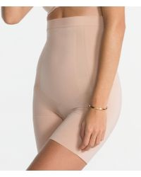 Spanx - Plus Oncore High-waisted Mid-thigh Shaper - Lyst