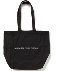 Heritage Mercantile Stores Company Logo Tote Bag - Black