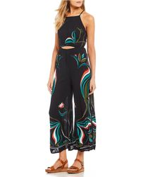 Billabong - One Up Printed Jumpsuit - Lyst
