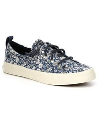 Sperry Crest Vibe Prints Liberty Floral Slip On Sneakers rq13mvLeVv