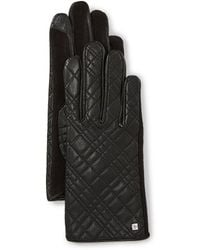 Lauren by Ralph Lauren - Ladies' Quilted Hybrid Gloves - Lyst