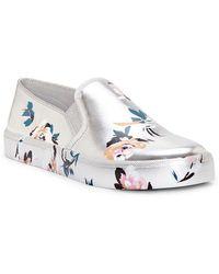 Jessica Simpson - Dinellia Floral Print Slip-on Sneakers - Lyst