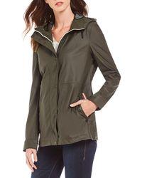 HUNTER - Lightweight Rubberized Hooded Jacket - Lyst