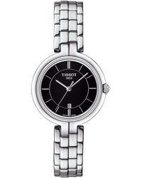 Tissot - Flamingo Stainless Steel Bracelet Watch - Lyst