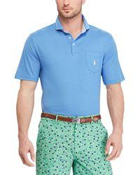 Polo Ralph Lauren - Polo Golf Active-fit Short-sleeve Lisle Polo Shirt - Lyst