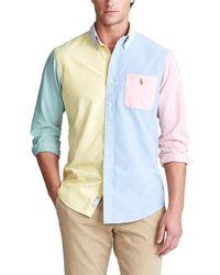 Polo Ralph Lauren Classic-fit Oxford Fun Shirt - Multicolour
