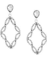 Anne Klein - Chandelier Earrings - Lyst