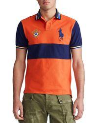 Polo Ralph Lauren - Big Pony Banded Stripe Short-sleeve Polo Shirt - Lyst